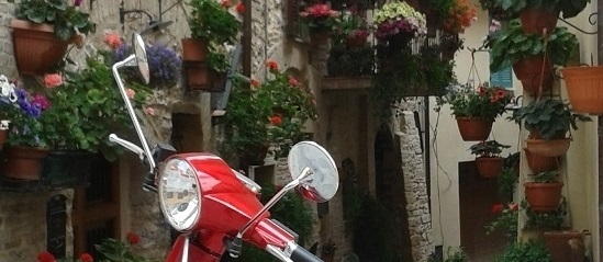 assisi in scooter